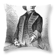 Samuel Adams (1722-1803) Throw Pillow