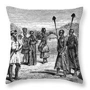 Samuel White Baker Throw Pillow