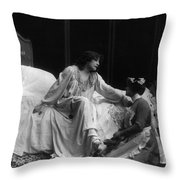 Sarah Bernhardt (1844-1923) Throw Pillow