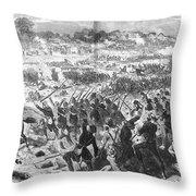 Seven Days Battles, 1862 Throw Pillow
