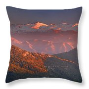 Sierra Nevada Throw Pillow