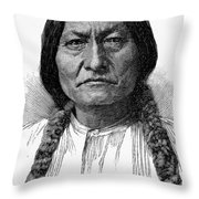 Sitting Bull (1834-1890) Throw Pillow