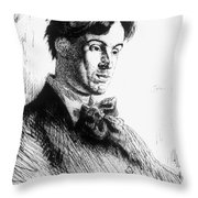 William Butler Yeats Throw Pillow