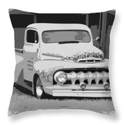 51 Ford Pickup  Throw Pillow