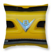 53 Ford Truck Throw Pillow