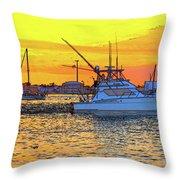 57- Sunset Cruise Throw Pillow