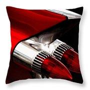 '59 Caddy Tailfin Throw Pillow