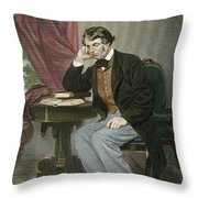Charles Sumner (1811-1874) Throw Pillow