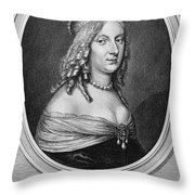 Christina (1626-1689) Throw Pillow