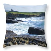 Classiebawn Castle, Mullaghmore, Co Throw Pillow