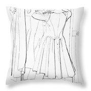 Edward Bulwer Lytton Throw Pillow