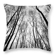 Epping Forest Art Throw Pillow