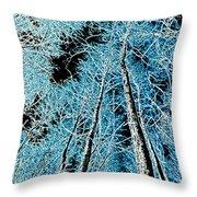 Forest Art Throw Pillow