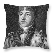 George Iv (1762-1830) Throw Pillow