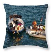 6- Home-sweet-home Throw Pillow