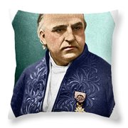Jean-martin Charcot, French Neurologist Throw Pillow