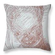 Jesus - Tile Throw Pillow