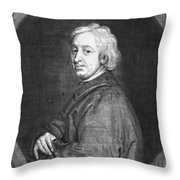 John Dryden (1631-1700) Throw Pillow