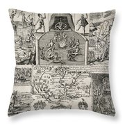 John Smith (1580-1631) Throw Pillow