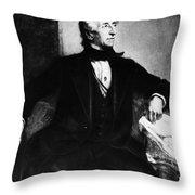 John Tyler (1790-1862) Throw Pillow