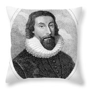 John Winthrop (1588-1649) Throw Pillow