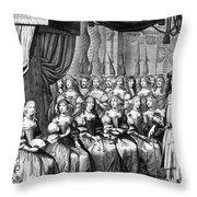 Louis Xiv (1638-1715) Throw Pillow