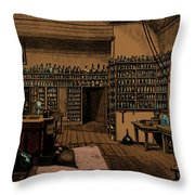 Michael Faraday, English Physicist Throw Pillow