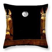 Midnight In Santa Fe Throw Pillow