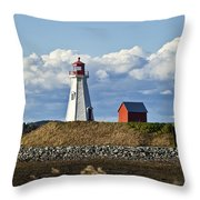 Mulholland Lighthouse Throw Pillow