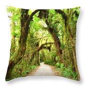 Native Bush Throw Pillow
