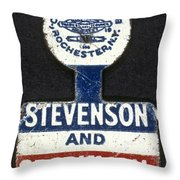 Presidential Campaign, 1952 Throw Pillow by Granger