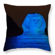 Pyramids Of Giza Throw Pillow