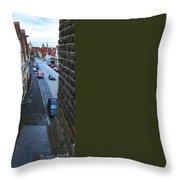 Rothenburg Medieval Old Town  Throw Pillow