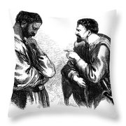 Shakespeare: Othello Throw Pillow