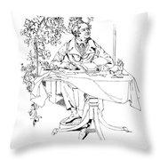 Thomas Moore (1779-1852) Throw Pillow