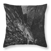 Verne: Journey Throw Pillow