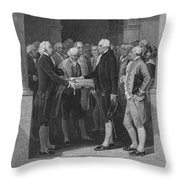 Washington: Inauguration Throw Pillow by Granger