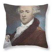 William Herschel, German-british Throw Pillow
