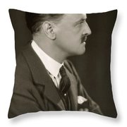 William Somerset Maugham Throw Pillow
