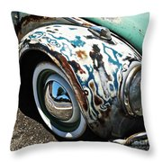 61 Volkswagon Bug Throw Pillow