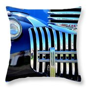 64 Chevy Grill Throw Pillow
