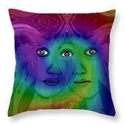 645 - A Certain Sadness Throw Pillow