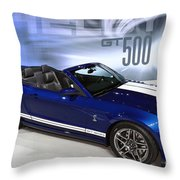 650 Horses On 4 Wheels Throw Pillow