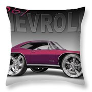 67 Chevrolet Impala Throw Pillow