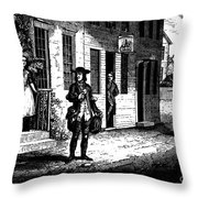 Benjamin Franklin (1706-1790) Throw Pillow