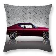 '69 Chevelle Throw Pillow