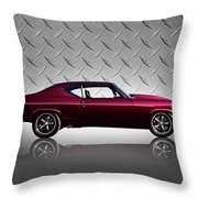 '69 Chevelle Throw Pillow