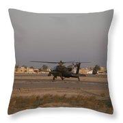 An Ah-64d Apache Longbow Block IIi Throw Pillow