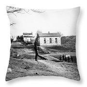 Civil War: Bull Run, 1861 Throw Pillow