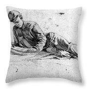 Civil War: Soldier Throw Pillow